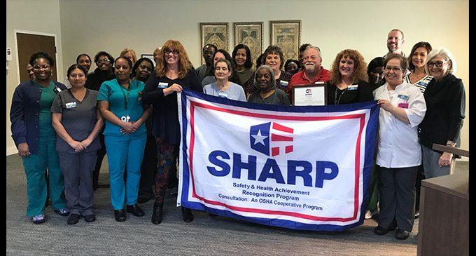 Trinity Glen receives SHARP Award