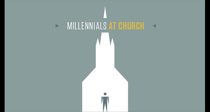 Millennials aren't flocking to the church like the generation before. Fact or fiction?