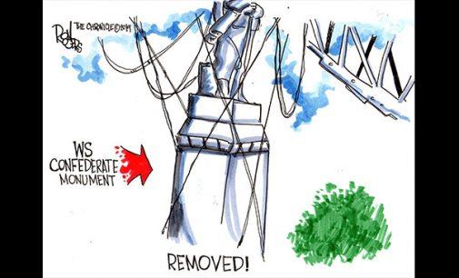 Editorial Cartoon: Removed