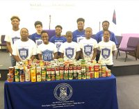 Sigma Betas tackle hunger in Souper Bowl of Caring Campaign