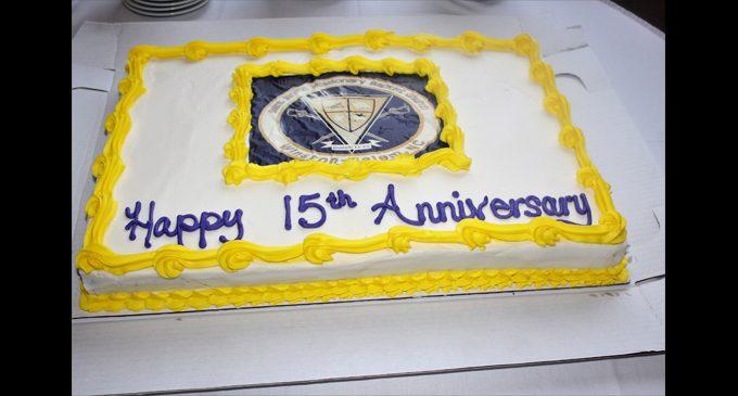 Church celebrates 15-year anniversary