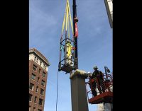 City finally has Confederate statue removed