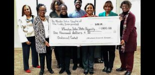 The Winston-Salem Chapter of The Links Incorporated sponsors oratorical contest