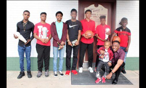 Youth basketball team wins YMCA championship