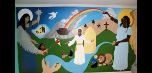 Artist's mural sparks conversation into a deeper issue