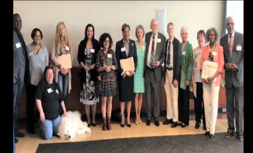 Forsyth County volunteers are recognized for their outstanding service