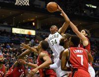 Raptors expose Giannis' offensive limitations