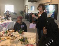 Carver High School Diamond Club experiences international tea party