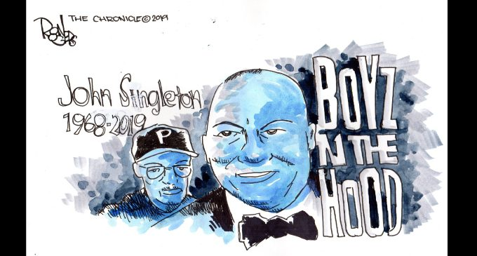 Editorial Cartoon: Boyz In The Hood