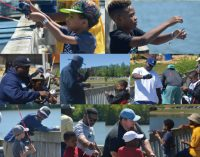 Fathers and sons go fishing