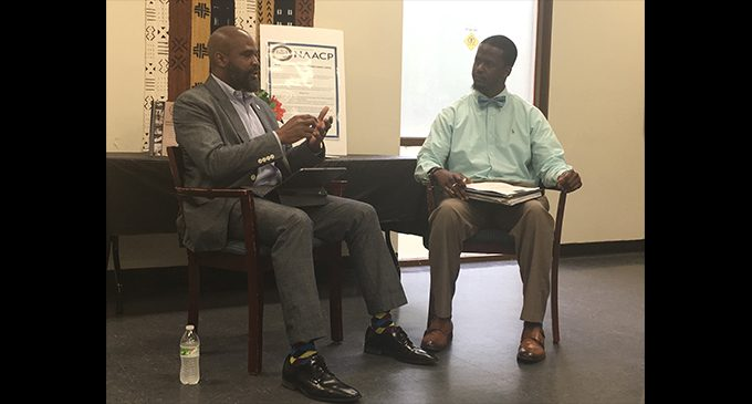 NAACP's Young Adult Committee holds town hall with Councilman Taylor