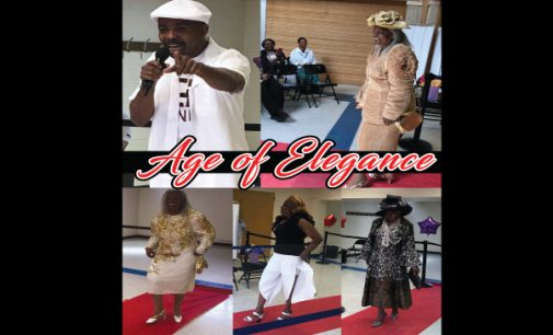 Seniors work the runway at Age of Elegance Fashion and Talent Showcase