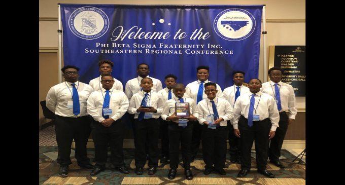 Sigma Betas Club excels at Regional Leadership Conference