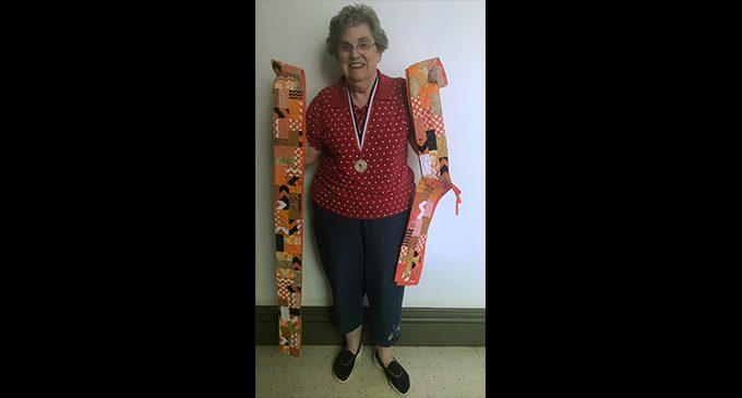 Local senior's talent for quilting has far-reaching impact