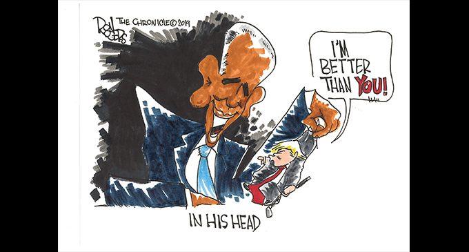 Editorial Cartoon: In His Head