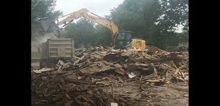 Demolition of apartment building re-ignites talk of gentrification