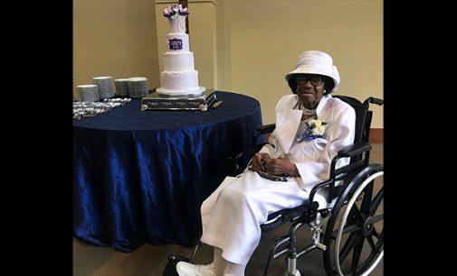 Lenora Cunningham celebrates 100 years of living gracefully