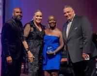 Burke, Adams receive Lifetime Achievement Awards