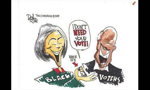 Editorial Cartoon: Mayor Pete