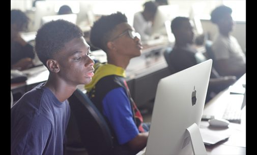 Forsyth Tech, AAMPED host STEM camp for local young men