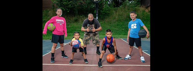 Local father uses basketball to put his kids on path to success