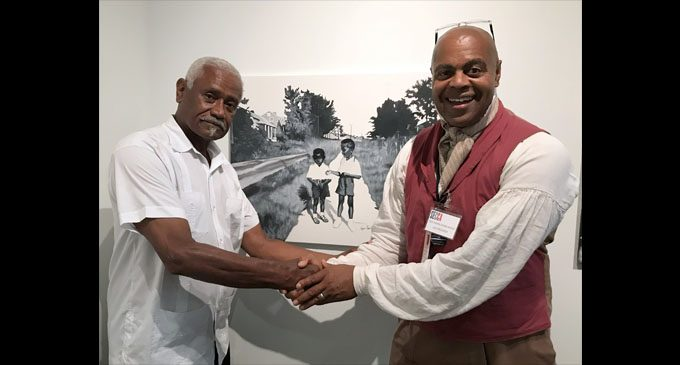 Leo Rucker's 'Painting Happy Hill' opens at SECCA