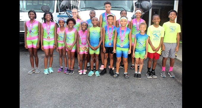 Track club shines at national meet