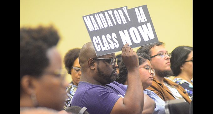 Current and former elected officials join the push for a mandatory African American history course