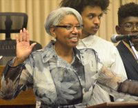 Linville sworn in as Forsyth County's first black Clerk of Court