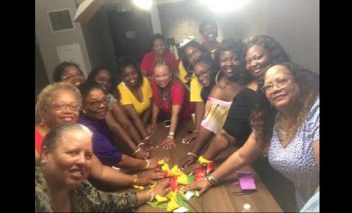 Local sorority of educators holds retreat