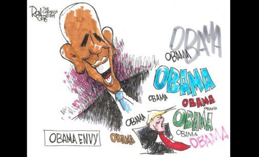Editorial Cartoon: Obama Envy