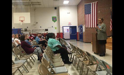 Superintendent kicks off listening tour at Old Richmond