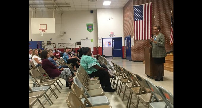 Superintendent kicks off listening tour at Old Richmond