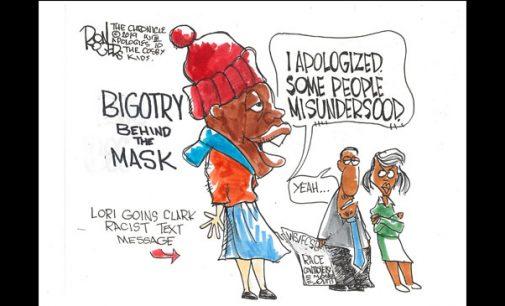 Editorial Cartoon: Mushmouth