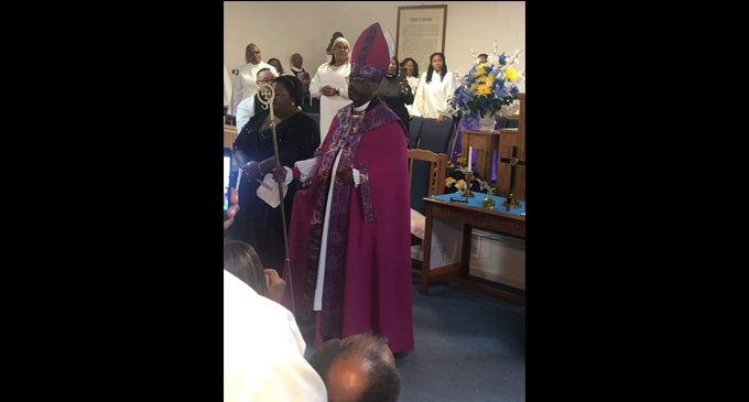 Local pastor consecrated as bishop at Freedom Baptist Church