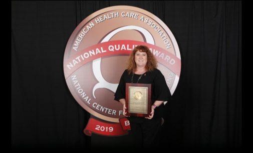 Trinity Glen earns 2019 AHCA/NCAL Bronze National Quality Award