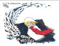 Editorial Cartoon: Trump Presidency falling apart