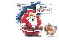 Editorial Cartoon: Speed it up