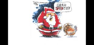 Editorial Cartoon: Speed it up