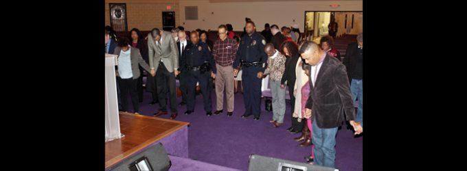 Local church holds vigil to bring awareness to gun violence