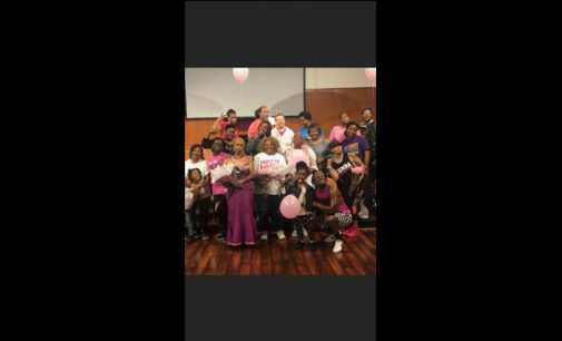 Health & fitness event held in honor of Breast Cancer Awareness Month, #ZUMBASTYLE
