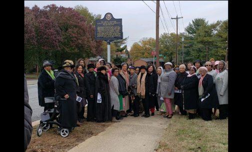 Historic marker honors  Phi Omega chapter of Alpha Kappa Alpha Sorority