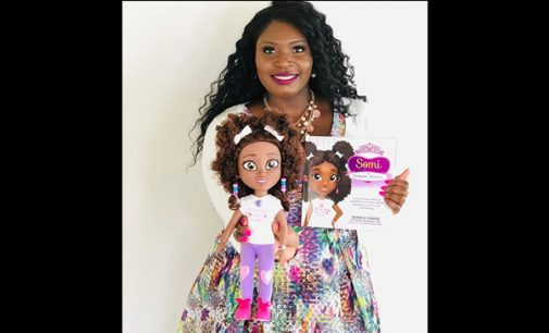 Author creates computer science doll to promote STEM learning