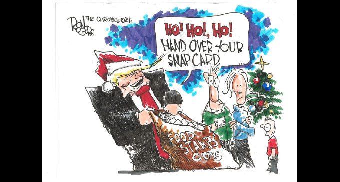 Editorial Cartoon: Food Stamp Cuts