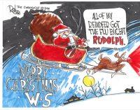 Editorial Cartoon: Merry Christmas