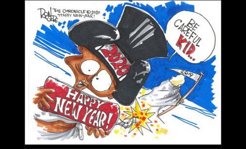 Editorial Cartoon: Happy New Year