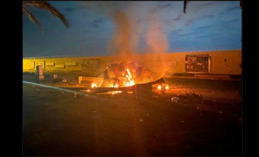 Trump's U.S. airstrike sparks tensions