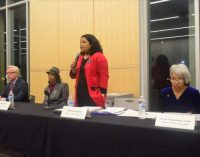 Local candidates take center stage