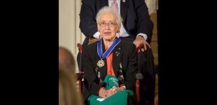 Katherine Johnson, a pioneering NASA mathematician featured in 'Hidden Figures,' dies at 101